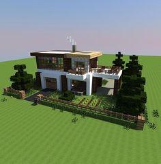 Modern Minecraft House                                                                                                                                                                                 More