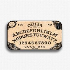 Ouija Board - Iphone 4 Case, Iphone Case And Iphone 5 Case Iphone 4s Covers, Iphone 5s, Ouija, 5s Cases, Samsung Galaxy S3, Etsy, Gothic Halloween, Halloween Ii, Gadgets