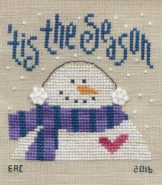Garden Grumbles and Cross Stitch Fumbles: Winter Stitch Winter Birds