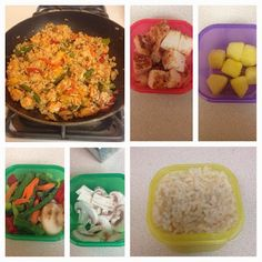Chicken Pineapple Stir Fry (21 DAY FIX approved)