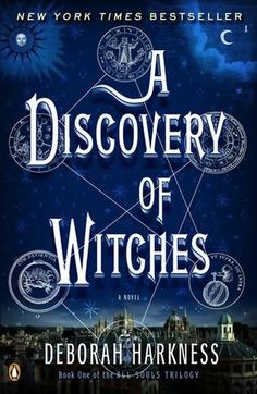 Love this series.  Great author.  Read series in order.    A Discovery of Witches      (All Souls Trilogy, book 1)    by    Deborah Harkness