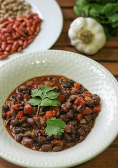 Black Bean Soup- yum!  Used two cans of beans rather than dry.  Easy and delicious.