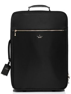 Kate Spade Classic nylon international carry-on - ShopStyle Rolling Luggage Carry On Luggage, Luggage Sets, Travel Luggage, Travel Bags, Carry On Suitcase, Kids Luggage, Travel Packing, Travel Guide, Kate Spade Luggage