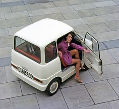 "Ford 1967 Commuta concept. Apparently FORD built the first ""Smart Car""."