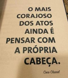 Imagem de frases and coco chanel