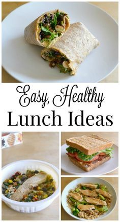 These easy, healthy lunch ideas make it easier to enjoy satisfying mid-day meals without sabotaging your healthy lifestyle. #ad #smartmade