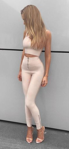 cute+blush+pink+set #omgoutfitideas #streetfashion #womenswear
