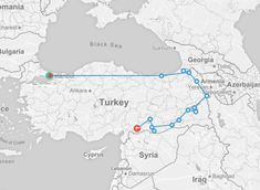 Eastern Borders of Turkey | Crooked Compass