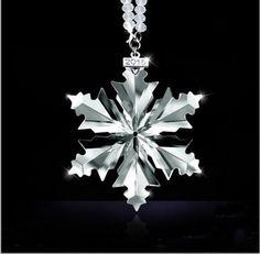 Swarovski Snowflake, Swarovski Ornaments, Crystal Snowflakes, Snowflake Ornaments, Swarovski Crystals, Christmas Ornaments, Elegant Christmas, Christmas Star, Crystal Collection