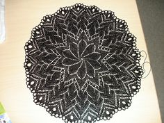Egeblad Doily 2 by gargoylelib, via Flickr