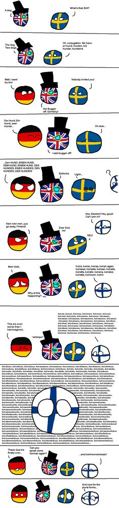 Countryballs: Don't Let Finland Conjugate