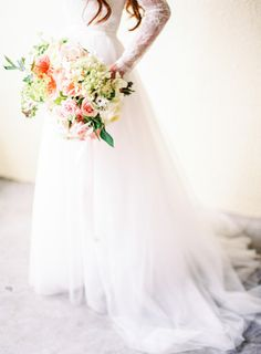 The gown!! http://www.stylemepretty.com/2015/04/27/marie-antoinette-inspired-washington-farm-wedding/ | Photography: Coco Tran - http://www.cocotran.com/