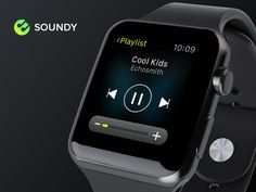 Soundy Music App concept on Apple Watch :) by Lan Bao