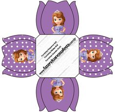Sofia the First: Free Printable Boxes. Dinosaur Birthday Party, Toy Story Birthday, Toy Story Party, Sofia The First Birthday Cake, Princess Sofia Birthday, Tangled Party, Tinkerbell Party, Tangled Birthday, Mickey Mouse Parties