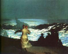 Homer, Winslow (b,1836)- Summer Night, 1890 -2b