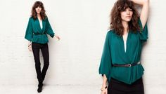"Freja Beha Erichsen & Heidi Mount for H&M ""New Silhouettes"" Collection"
