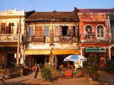 Kampot Buildings, camboya