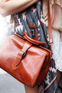 NYC #streetstyle #Zara bag