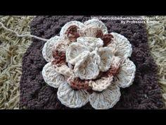 ▶ Flor Rainha em Crochê Parte -2 - YouTube