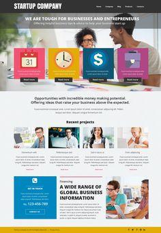 Website Theme , Business