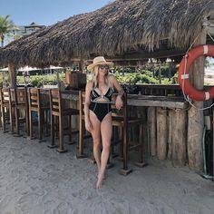 beach one piece swimsuit