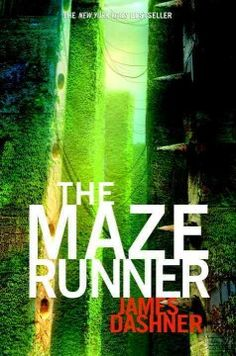 The maze runner by James Dashner. Click the cover image to check out or request the science fiction and fantasy kindle.