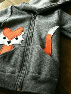 Inspiration :: Children's Fox Hoodie ecofriendly felt by LittleRootedGoods. Inspiration :: Children's Fox Hoodie ecofriendly felt by LittleRootedGoods. Fashion Kids, Diy Fashion, Fashion Brands, Fashion Shoes, Fashion Design, Sewing For Kids, Baby Sewing, Boys Sewing Patterns, Felt Patterns