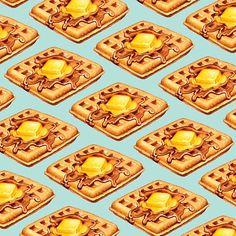 Waffle Pattern