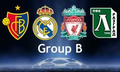 Liverpool's CL September 16 - Ludogorets Razgrad (H) October 1 - FC Basel (A) October 22 - Real Madrid (H) November 4 - Real Madrid (A) November 26 - Ludogorets Razgrad (A) December 9 - FC Basel (H) Fc Basel, September 16, Liverpool Fc, Juventus Logo, My Passion, Champions League, Real Madrid, Cl, Collection