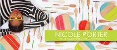 Nicole Porter beechwood plates