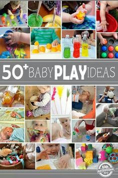 50+ baby playtime ideas