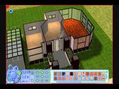 The Sims 2 - Building a Modern House/Pseudo Tutorial