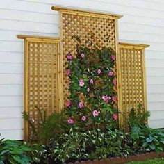 Build a Trellis - DIY Outdoor Projects - 11 Super Simple Ideas - Bob Vila