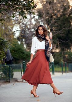 45 Scarf Outfit Ideas to try this Winter
