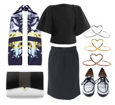 """""""Office day"""" by kreateurs ❤ liked on Polyvore featuring Mimilamour, women's clothing, women, female, woman, misses and juniors"""