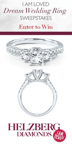 Here's Your Chance to #Win a #Diamond Wedding #Ring! #bridal #jewelry #sweeps VALID UNTIL DEC 24
