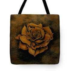Rose Tote Bag featuring the painting Autumn Rose by Faye Anastasopoulou Autumn Rose, Bag Sale, Reusable Tote Bags, Painting, Collection, Painting Art, Paintings