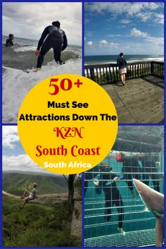 Click here if you looking forattractions on the KZN South Coast then this post will spoil you with a unique variety of stops, activities and places to explore. #southcoast #kznsouthcoast #southafrica #travel #kzn