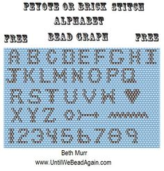 Alphabet   I can't find how to get to any pattern from this site - clicking on the highlighted words (such as 'pattern') brings you to an ad.  :(