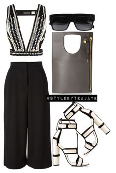 """""""Untitled #1798"""" by stylebyteajaye ❤ liked on Polyvore featuring Alix, sass & bide and Proenza Schouler"""