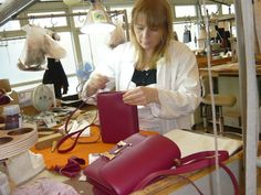 Did I mention my trip to the HERMES workshops in Paris??!!