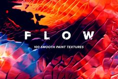 Flow: 100 fluid abstract paintings by Jim LePage on @creativemarket
