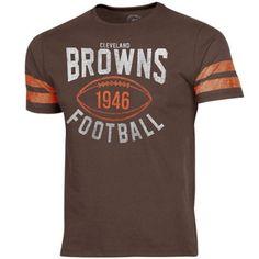 '47 Brand Cleveland Browns Gridiron T-Shirt - Brown