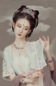 Pop Art Tattoos, Chinese Traditional Costume, Doll Divine, Asian Cute, Figure Photography, Ancient Beauty, Oriental Fashion, Oriental Style, Chinese Clothing