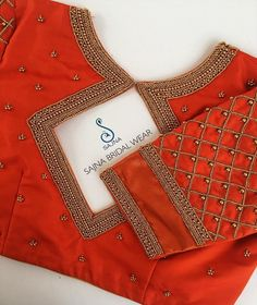 blouse designs To get your outfit customized visit us at Chennai, Vadapalani or call/msg us at for appointments, online order and further Cutwork Blouse Designs, Wedding Saree Blouse Designs, Simple Blouse Designs, Stylish Blouse Design, Chennai, Mirror Work Blouse Design, Simple Embroidery Designs, Sari Design, Designer Blouse Patterns