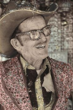 the original rhinestone cowboy Loy Allen Bowlin, in whose spirit I will be mentally gluing rhinestones on everything I see, such that nothing in my field of vision will be anything less that fabulous.