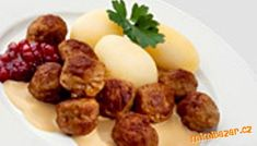 Švédské masové kuličky skoro jako z IKEA Ground Meat Recipes, Beef Recipes, Czech Recipes, Ethnic Recipes, Mince Meat, Food To Make, Sausage, Ikea, Pork