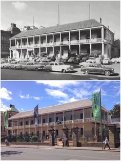 The Mint Building, Macquarie Street, Sydney in the late and in [City of Sydney Archives > Phil Harvey. By Phil Harvey] Phil Harvey, Sydney City, Retro Futurism, Life Photo, Historical Photos, Continents, Wwii, New Zealand, Buildings