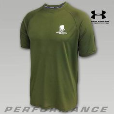 Under Armour Wounded Warrior Project Tech T-Shirt   ArmedForcesGear.com