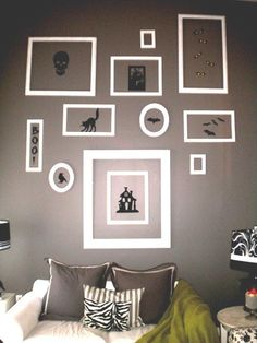 Halloween wall decorating ideas for living rooms